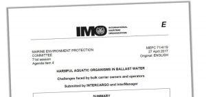 Intercargo menginginkan tindakan dari USCG dan IMO atas bulk carrier ballasting