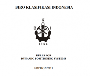 BKI RULES ( Vol II ),2011 Rules for Dinamics Positioning Systems,2011