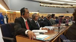 Indonesia serahkan Piagam Aksesi Ratifikasi SOLAS 1974 dan Loadlines 1966 di Sidang IMO