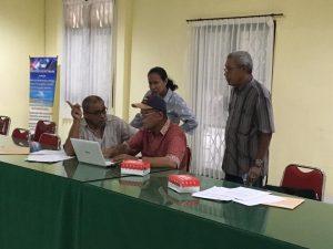 Kegiatan Pendampingan Borang akreditasi Program Study TSP.